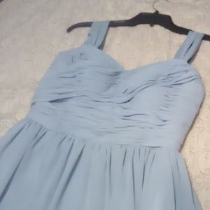Dusty Blue Azazie Bridesmaids Dress